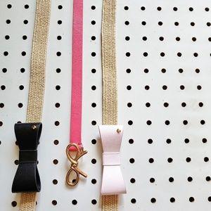 Kate Spade Adorable Waist Belts Lot of 3